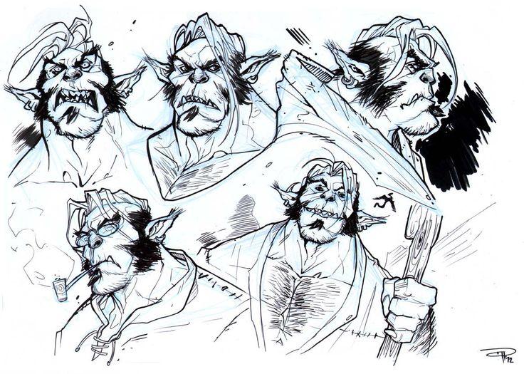 DRAGONERO - Gmor sketches (2012)