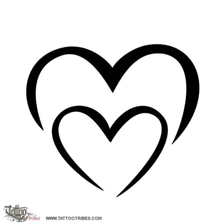 Tatuaggio di Cuore M+M, Legame tattoo - custom tattoo designs on TattooTribes.com
