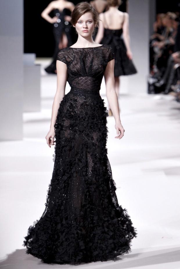 Petite robe noire haute couture