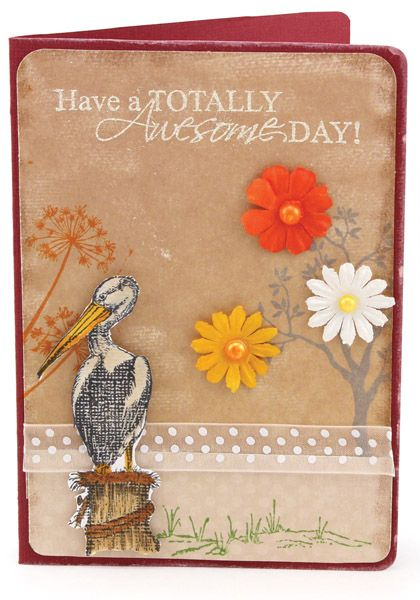 MT564 Autumn Awesome Day Card
