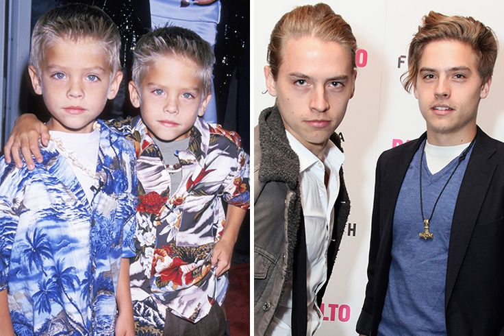 Child actors you wouldn't recognize today. They're all grown up! Dylan and Cole sprouse