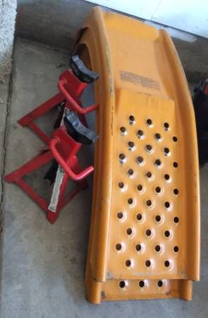Car ramps and jack stands (Gardnerville) $30