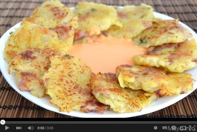 » Video ricetta frittelle di patate Ricette di Misya - Ricetta Video ricetta frittelle di patate di Misya