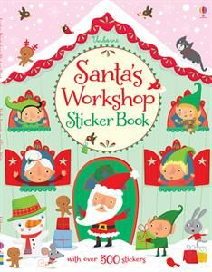 Santa's Workshop Sticker Book: Usborn Books, Stickers Books, Santa Workshop, Christmas Books, 8 99 Santa, Books 13, Workshop Stickers, Books 8 99, Christmas Ideas