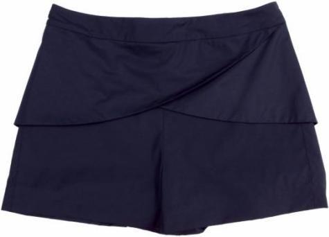 Modelos de shorts saia moda 2012