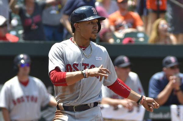 Mookie Betts and the Boston Red Sox were hot, and the Toronto Blue Jays were not, as both teams continued to travel in opposite directions.