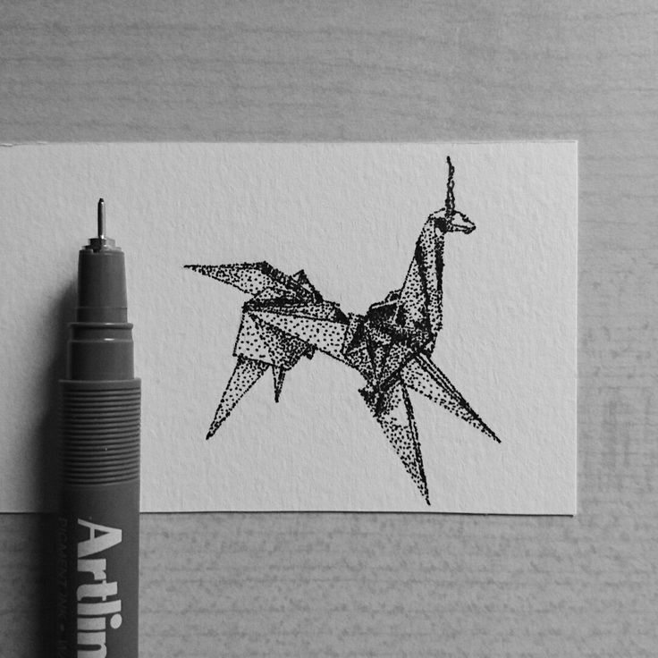 Origami Unicorn from Blade Runner