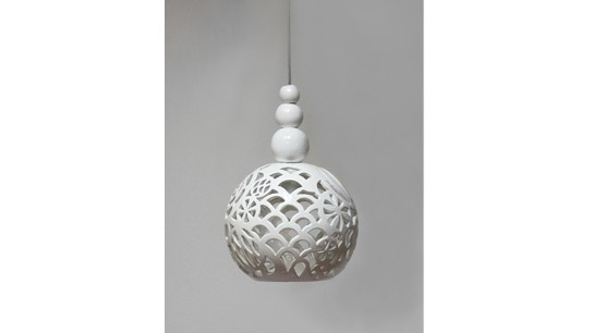 """ceramic lamp """" Oriental dream"""" design by joanna bylicka"""