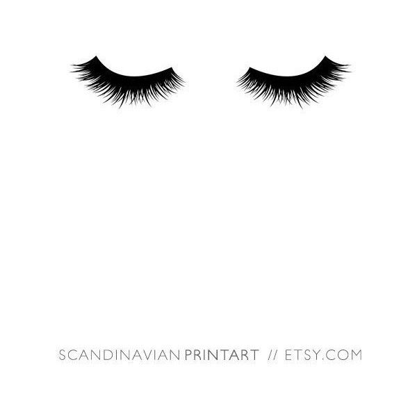 Lashes print, black lashes, lash, lashes poster, eyelashes, lashes,... ❤ liked on Polyvore featuring home, home decor, wall art, black and white home decor, printable wall art, black wall art, welcome wall art and black home decor