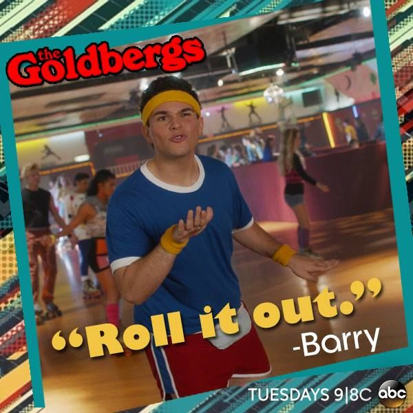 #Barry #TheGoldbergs