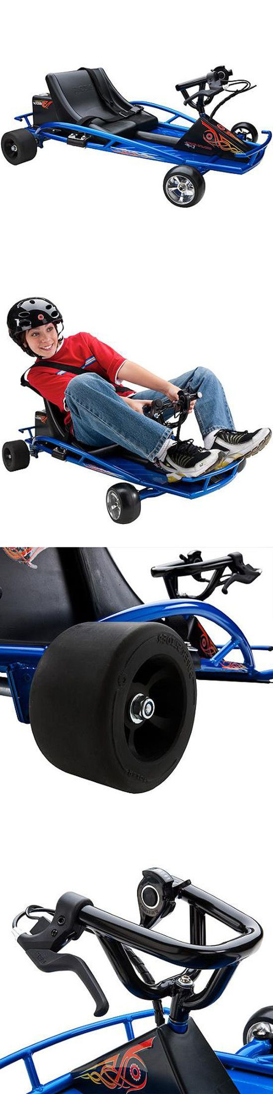 Complete Go-Karts and Frames 64656: Electric Go Kart Slide Drift Battery Powered Kids Rideon Fast Gokart Toy Gift -> BUY IT NOW ONLY: $356 on eBay!