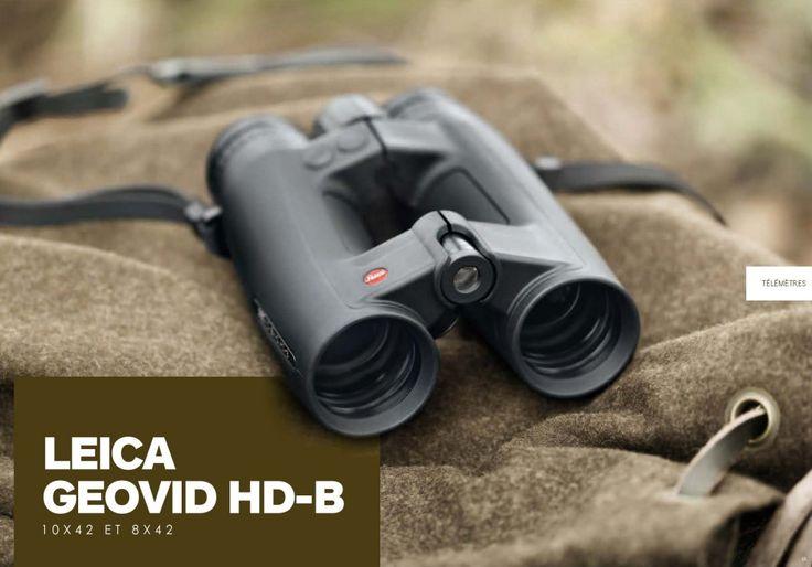 Jumelles Télémètre Leica Geovid HD-B