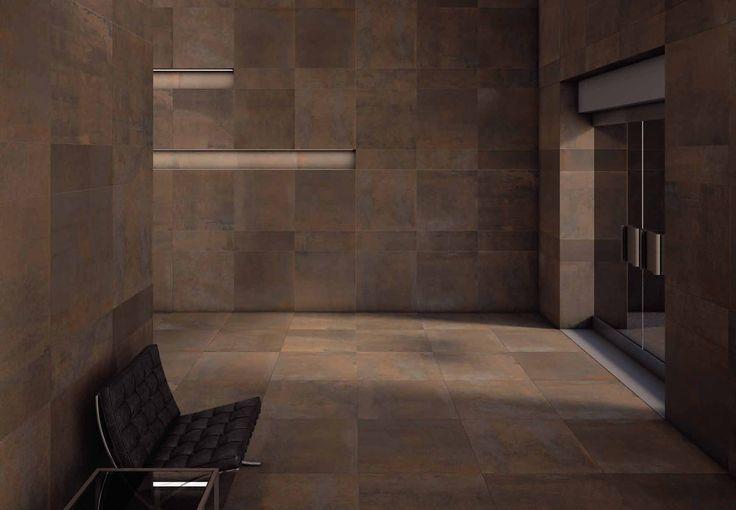 #Keope #Edge Brown 9,7x60 cm Q5U1 | #Gres #marmo #10x60cm | su #casaebagno.it a 67 Euro/mq | #piastrelle #ceramica #pavimento #rivestimento #bagno #cucina #esterno
