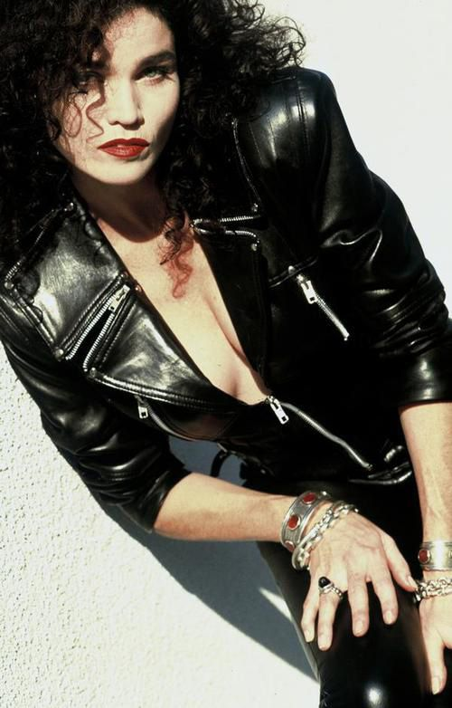 """Alannah Myles may have had one of her only hits with """"Black Velvet"""" but she sure was a hit in black leather"""