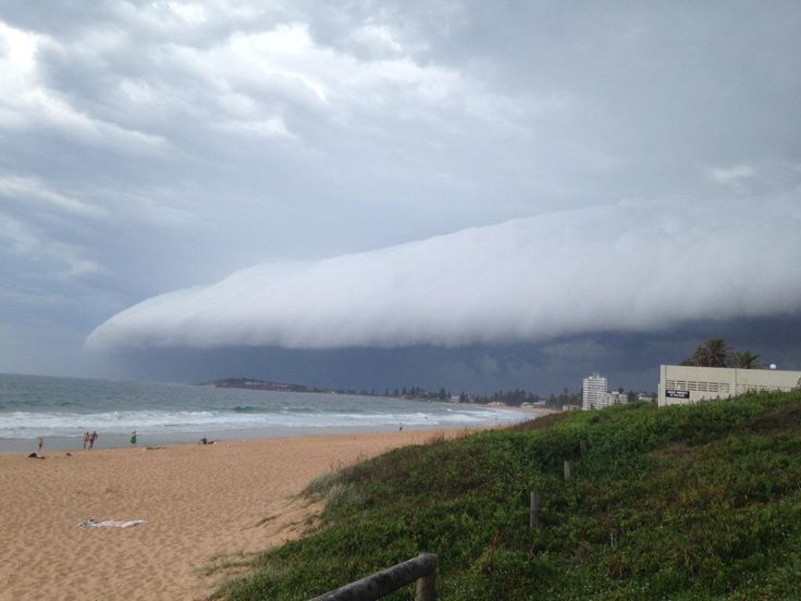 So much for going to Narrabeen... #SydneyStorm