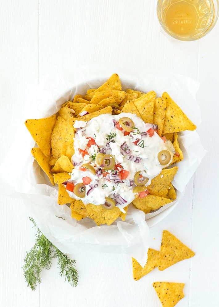 // Griekse nacho's
