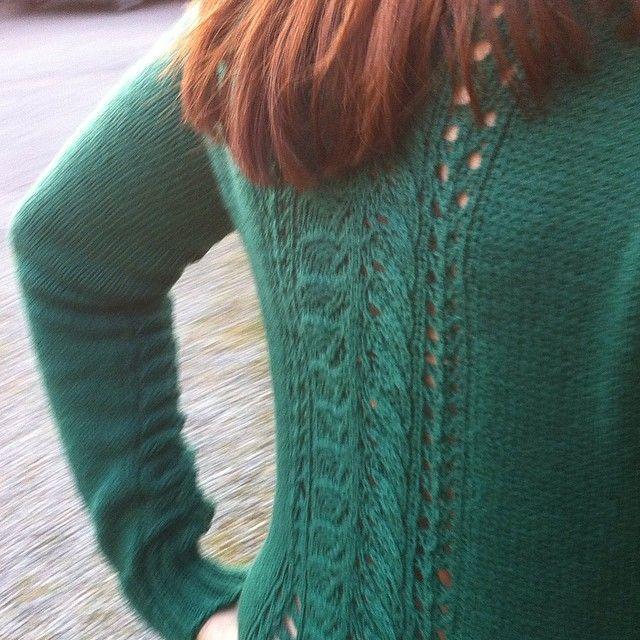 My Bloomsbury. Knitted in Perle Krepp