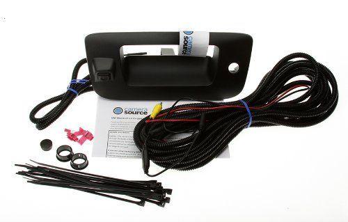 Camera Source CS-GMTRb Chevy Silverado / GMC Sierra Backup Camera for Universal Monitors (RCA)