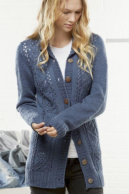 Willow Cardigan pattern by Tori Gurbisz