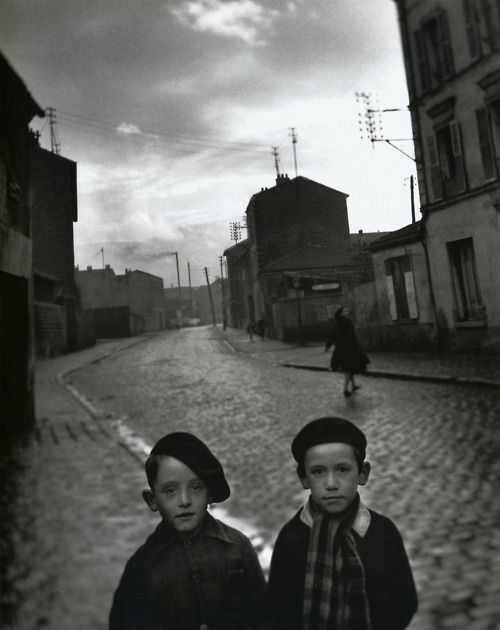 Louis Stettner - Aubervilliers Paris, 1950 || From Louis Stettner: Wisdom cries out in the streets