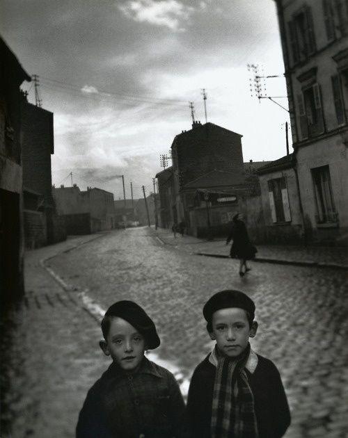 Louis Stettner - Aubervilliers Paris, 1950 || From Louis Stettner: Wisdom cries…