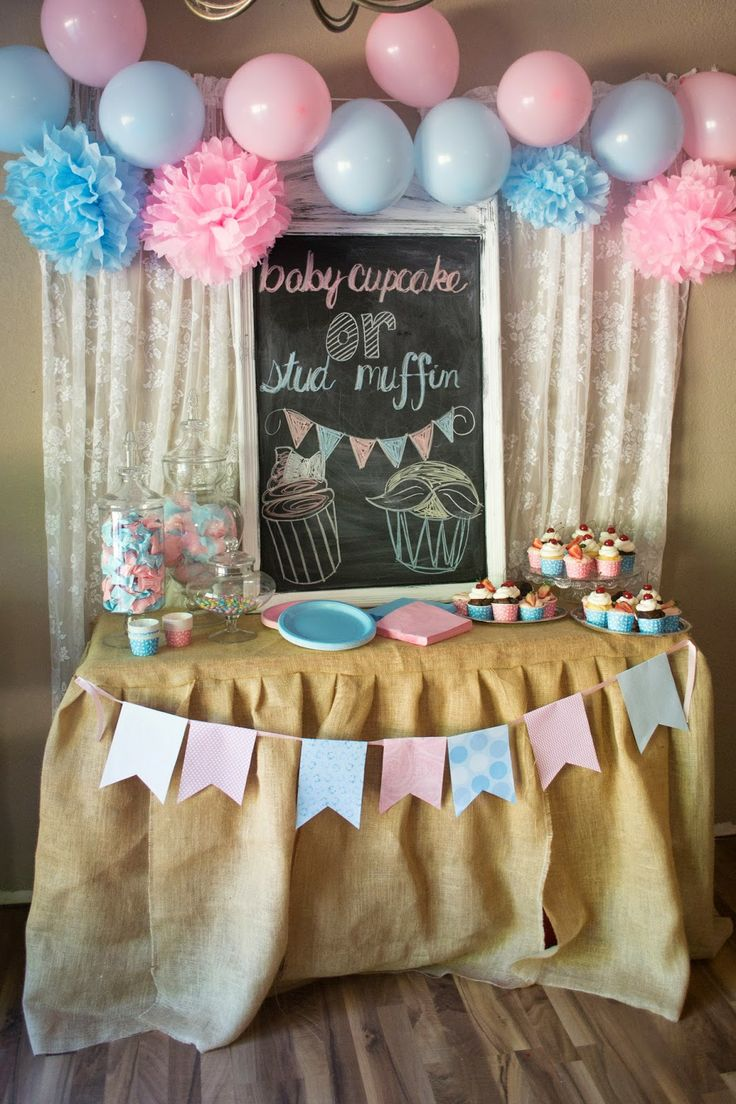 Foster Creativity Gender Reveal Party Decorations
