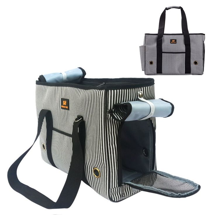 Oak-Pine Stripe Pet Airline Approved Outdoor Travel Carrier Portable Dog Cat Handbag Oxford Kitten Puppy Tote Bag with Removable Bottom Pad and Adjustable strap * Click image for more details. (This is an affiliate link and I receive a commission for the sales)
