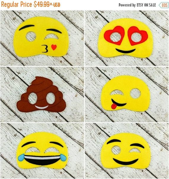Check out this item in my Etsy shop https://www.etsy.com/listing/481873873/early-bird-sale-emoji-mask-set-pretend