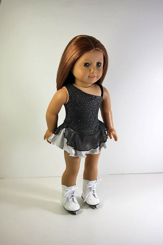 American Girl Doll ClothesIce Skating Dress and by sewurbandesigns