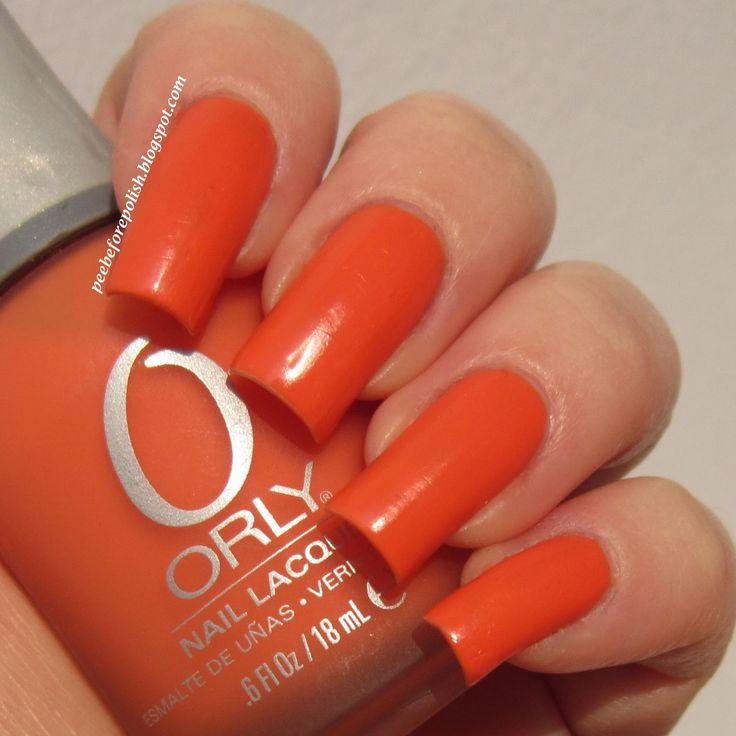 Orly Old School Orange