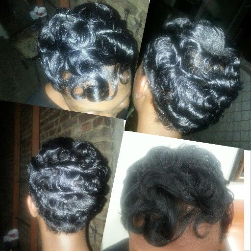 Phenomenal 1000 Images About Fingerwave Styles On Pinterest Finger Waves Hairstyle Inspiration Daily Dogsangcom