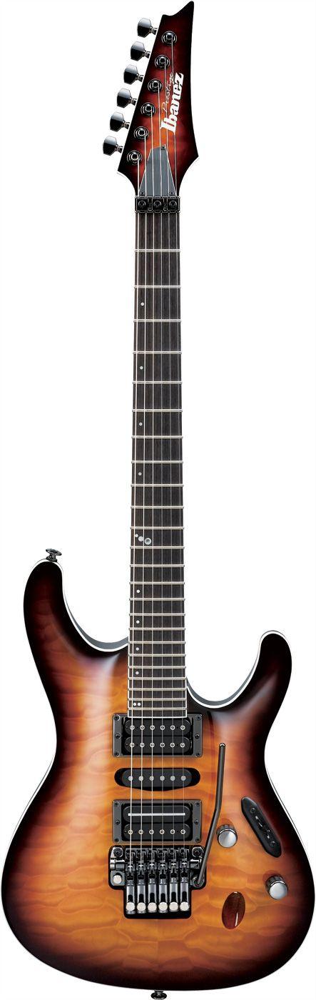 #Ibanez Prestige Series S5470QRBB #Guitar