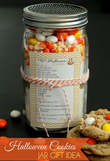 Heading to a Halloween party? Grab your costume, a bag of candy, and this sweet hostess gift.