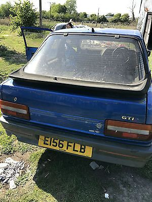eBay: 1987 PEUGEOT 309 GTI car for spares, rear beam, etc #classiccars #cars