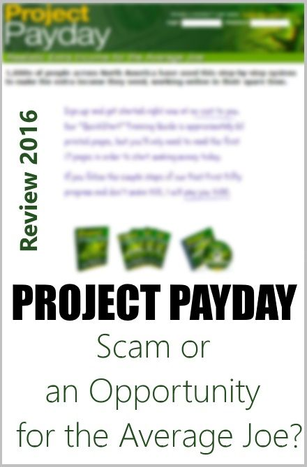 project payday scam or real