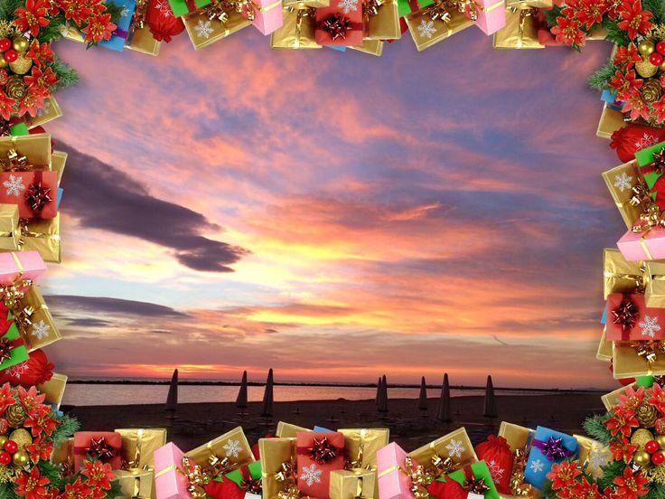 #Natale #Romagna #auguri #sunset #alba #relax #vacanze #Bellaria #regalo