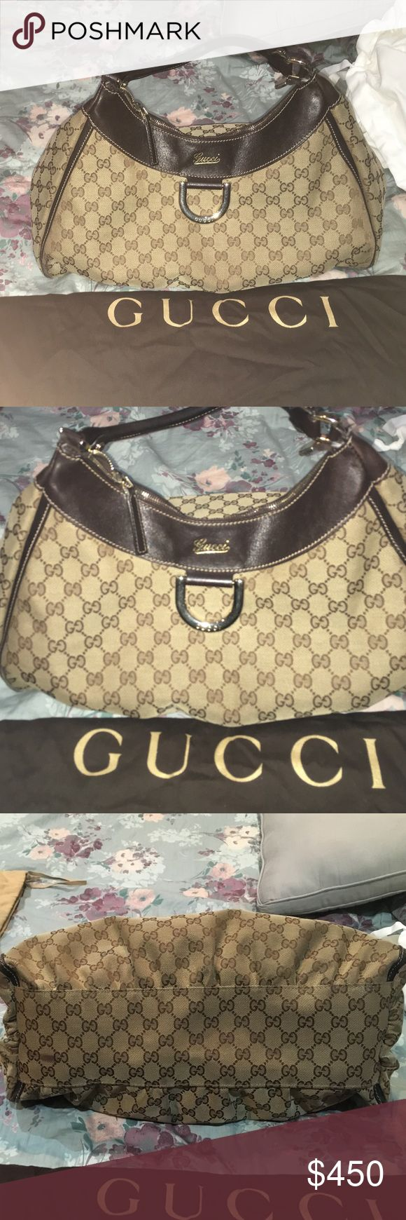 Lightly used Gucci bag! Has no stains, no scuffs. Only wore 2 times. Price is negotiable Gucci Bags Shoulder Bags