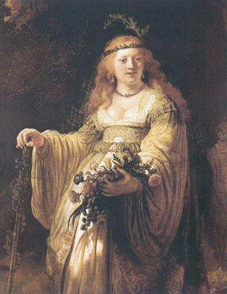 Rembrandt - Flora
