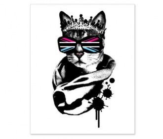 @Mo Gunzzz  this made me think of you.Princess Jubilee Print on Uncovet!