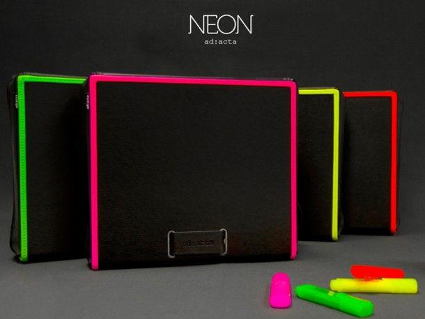 Fashion-Trend für den Sommer - Neon Taschen von ad:acta.  Mehr Infos: http://www.cyperior-store.com/marken-shops/ad-acta.html