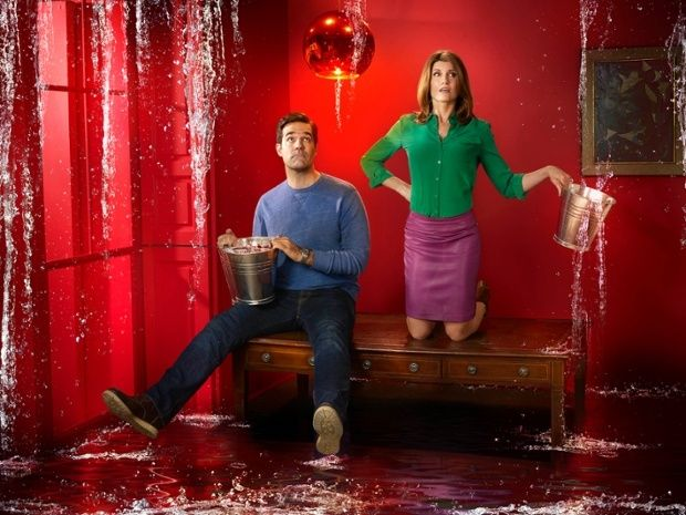 Rob Delaney and Sharon Horgan in C4 comedy 'Catastrophe'