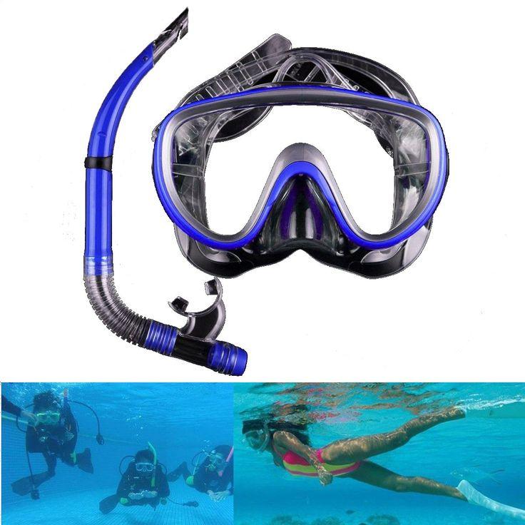 Sale 26% (9.99$) - Anti-Fog Half-Dry Snorkel Goggles Diving Glasses Scuba Swimming Mask Water Sports Equipment #scubadivingequipmentwatches