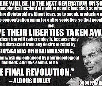 a comparison of aldous huxleys brave new world to the real world And, to further orient the reader, huxley fixes a date — af 632 — the number as well as the af emphasizing the difference between the reader's world and the futuristic world of the novel note especially huxley's comparison of technology with nature and his point of making technology more alive than nature itself.