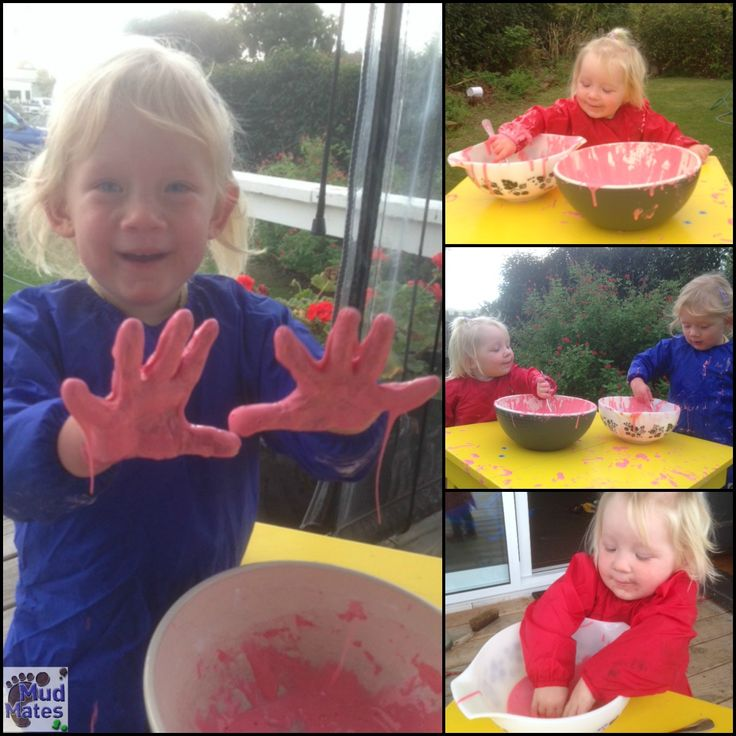 Mud Mates Craft Aprons came in handy for these girls when they enjoyed playing with this gloopy, messy slime!  Find the recipe on our blog here: http://mudmates.co.nz/messy-play-adventures-slime/