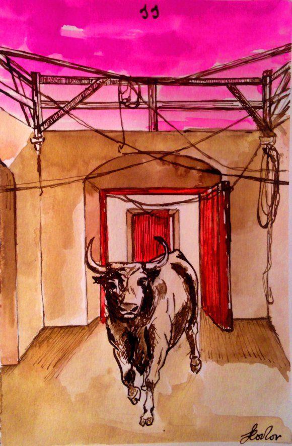 El toro más bravo... por Leonor Gallego
