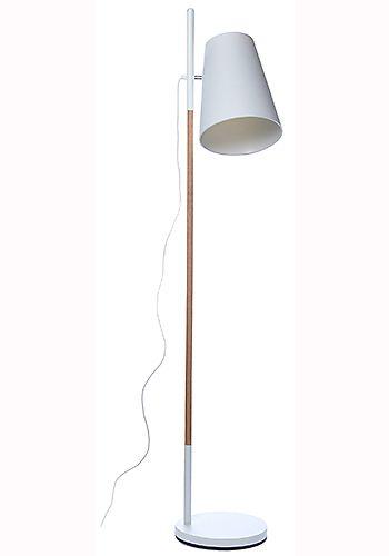 Stehlampe HideoutMit dieser tollen Lampe brauchen sie sich nicht zu verstecken. Diese Lampe zeichnet sich durch ihren Materialmix aus Eicheholz und Metall aus. Die runde Metallplatte sorgt für den nötige Stabilität. der...