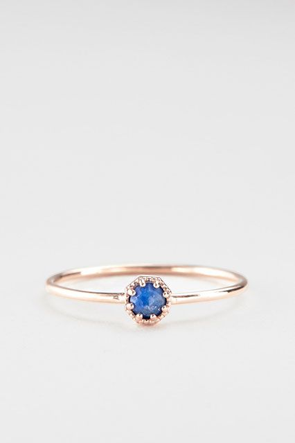 The Anti-Diamond Engagement Ring Guide #refinery29  http://www.refinery29.com/non-diamond-engagement-rings#slide12