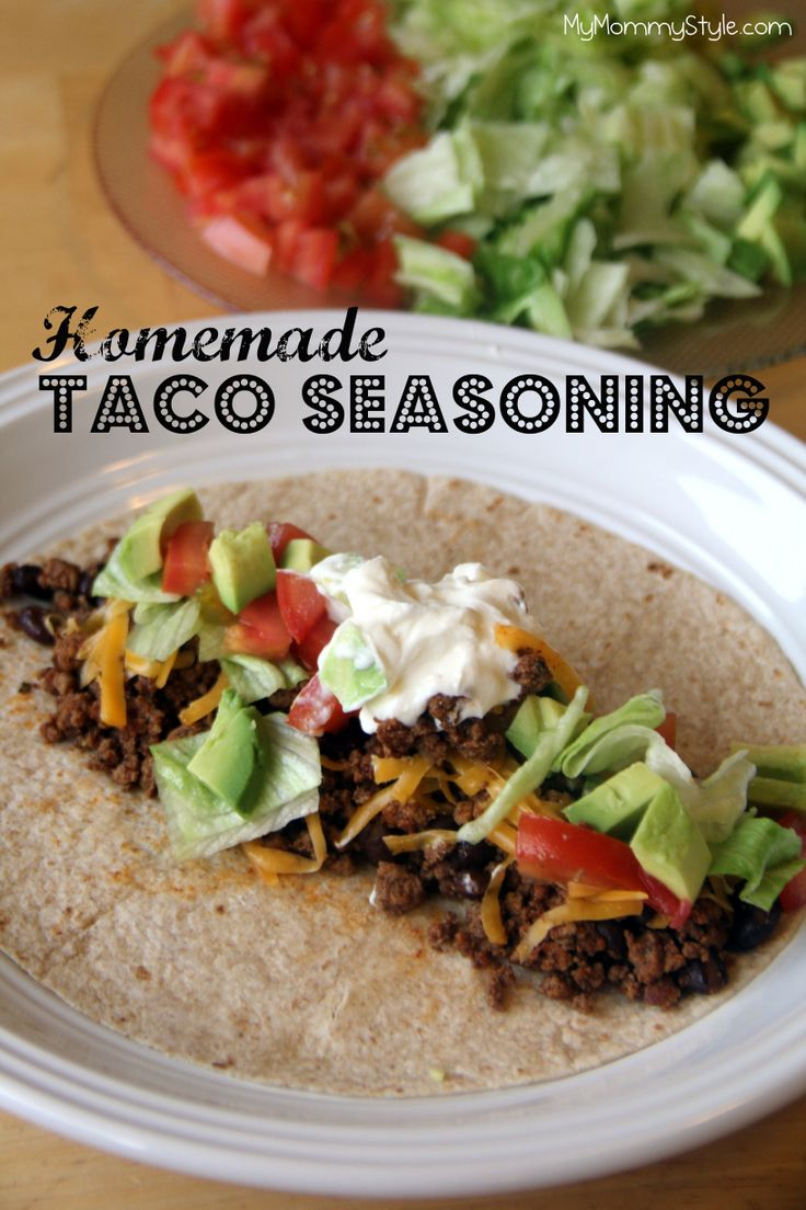 Never buy taco seasoning packets again. Homemade tastes so much better and is easier than you think! Mymommystyle.com