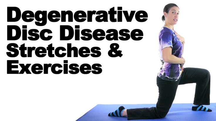 Degenerative Disc Disease (DDD) can be an acute or chronic issue. It's basically when the intervertebral discs of the spine start to degenerate. See Doctor Jo's blog post about this at: http://www.askdoctorjo.com/degenerative-disc-disease