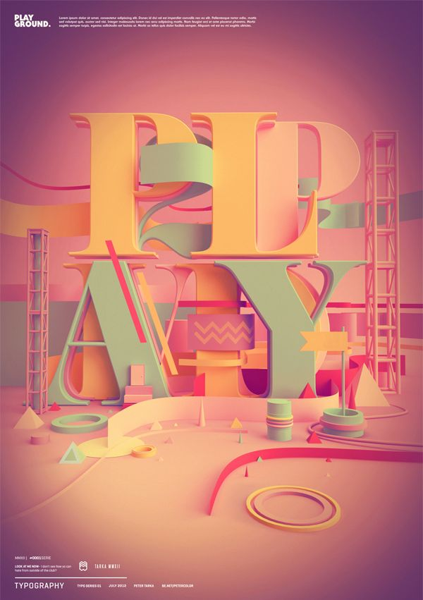 Typography 04. by Peter Tarka, via Behance